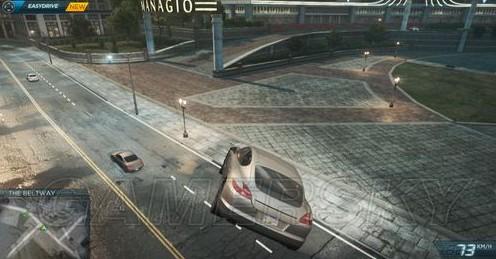 极品飞车17劫车点分布图 87个热门车位置图片