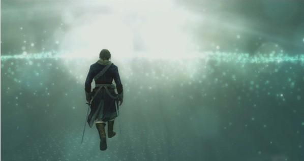 《技法串珠4》信条刺客主机介绍PS4画质更真海水视频的对比图片