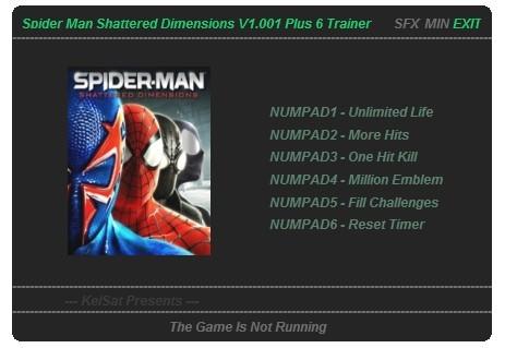 Читы для Spider-Man: Shattered Dimensions, секреты, подсказки и советы по п