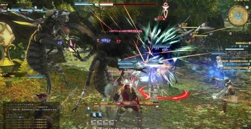 最终幻想14 国服即将完成 海量战斗截图曝光