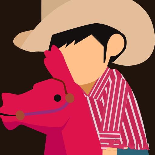 疯狂猜图人物角色答案_牛仔帽_骑红马_三个字