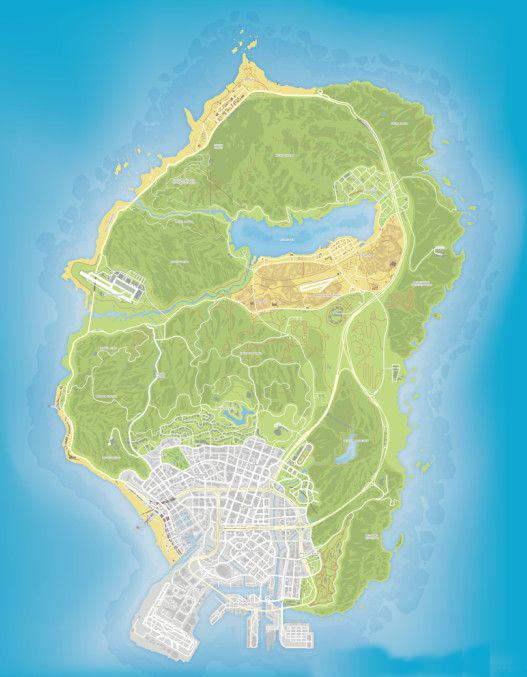 gta5_高清地图