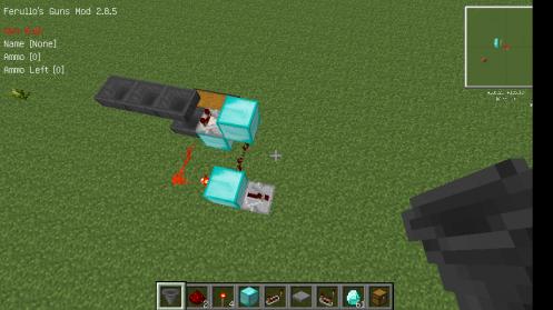 3长这样.红石中继器连一会的投掷器