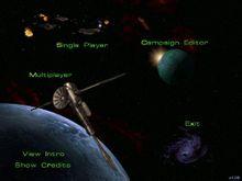 《星际争霸》游戏菜单