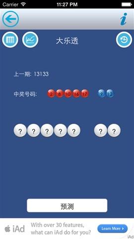 中彩票(预测)