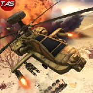 武装直升机沙尘暴战争