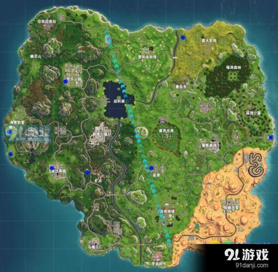堡垒之夜拼图碎片在哪找 第10周任务拼图碎片位置
