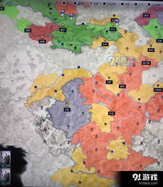 三国全面战争刘备吞并流玩法介绍