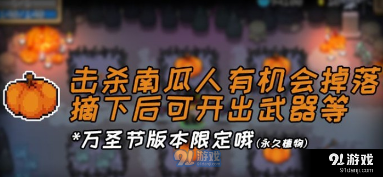 元气骑士南瓜种子获取攻略_52z.com