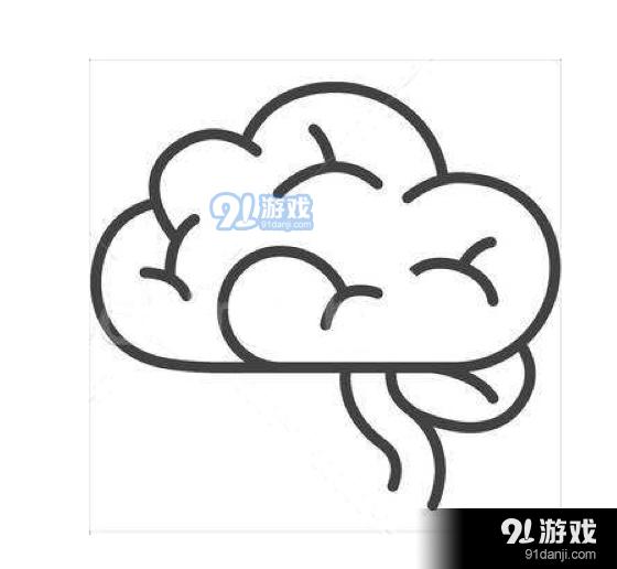 QQ红包大脑图案怎么画 大脑图案简笔画教学详览