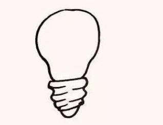 QQ红包灯泡图案怎么画 灯泡图案简笔画详解指南