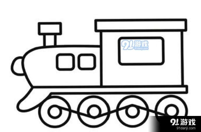 QQ红包火车图案怎么画 火车图案简笔画详解指南