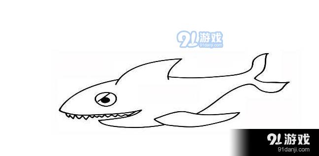 QQ红包鲨鱼图案怎么画 鲨鱼图案简笔画详解指南