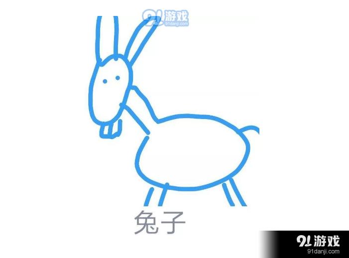 QQ画图红包兔子怎么画 兔子简笔画详解指南