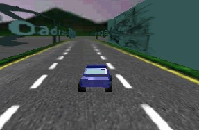 3D汽车巷道赛