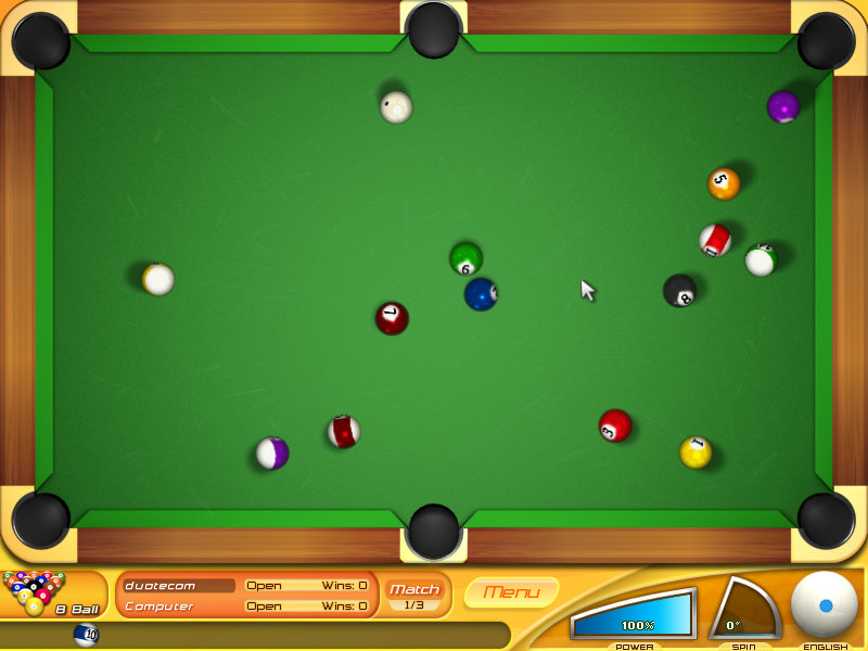 旋转台球(Backspin Billiards) V1.0.