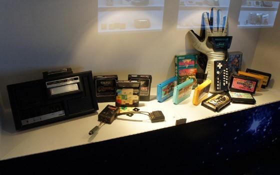 年代的复古游戏机