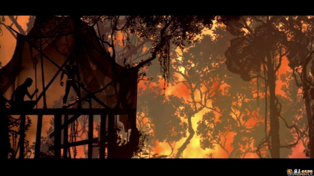 PSN 动作游戏新作《OUTLAND》宣传视频_9