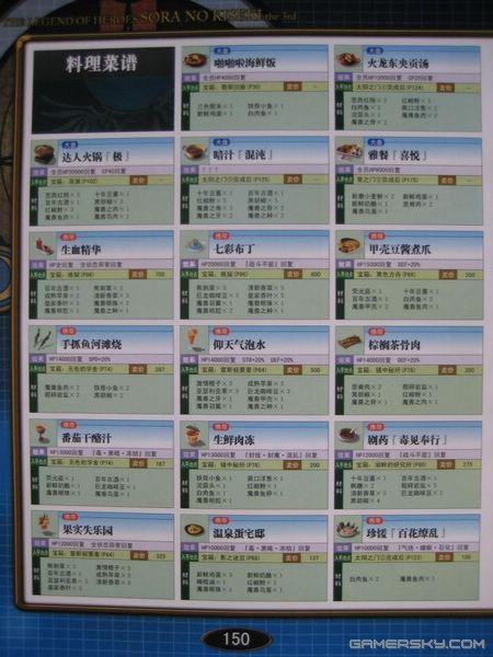 《攻略传说空之攻略3rd》轨迹英雄本扫描图4大理至重庆双廊自驾游官方图片