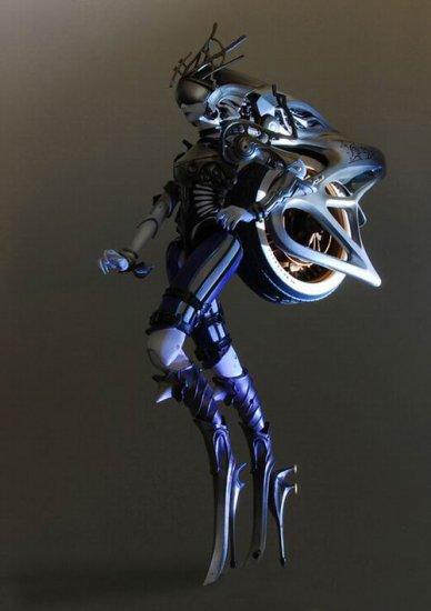 游戏动漫 最终幻想13 超华丽召唤兽模型始