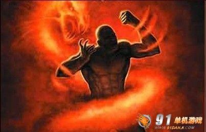 暗黑小说《原罪之战》封面中的乌迪西安