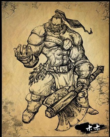 《dota2》英雄精美手绘图
