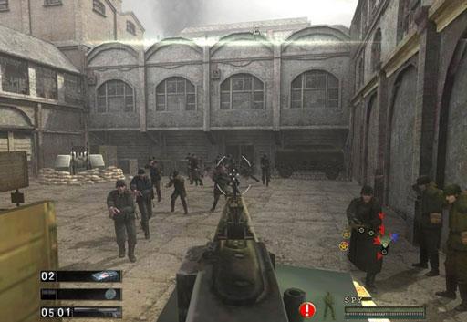 盟军敢死队5战争打击图片