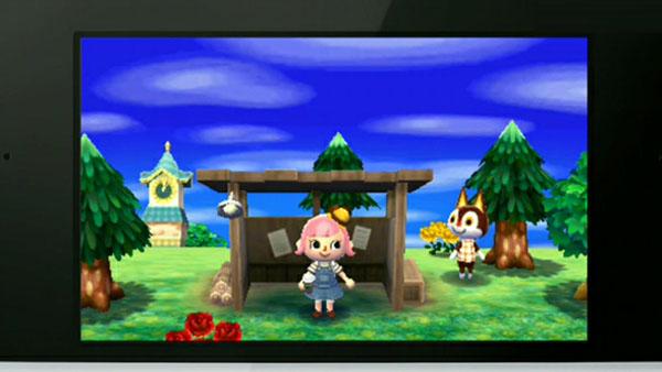 作 跳出 动物之森 最新游戏画面公开