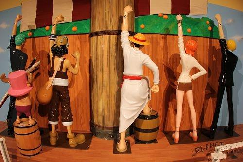 日本《海贼王》主题展馆 女帝大胸任你摸图片