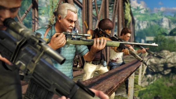 《孤岛惊魂3》公开4人合作模式 全新角色及剧情