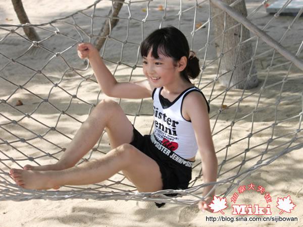 张木易首度回应与12岁嫩模miki逆天恋:要勇敢爱