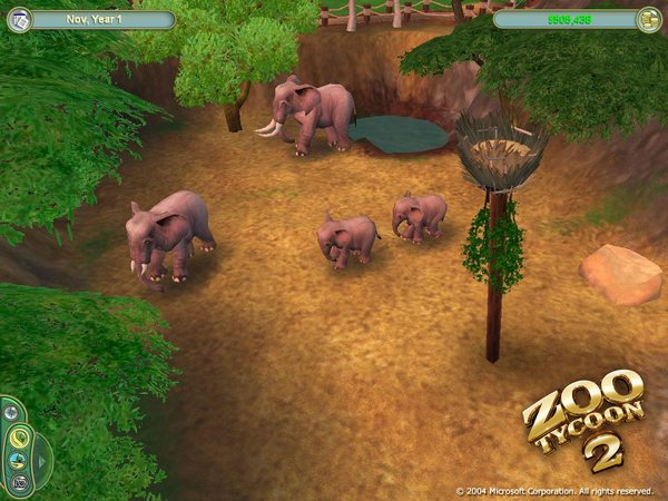 《动物园大亨2》将会非常容易上手,它将会使得玩家认清游园与动物之间密切的联系,而且该作品提供的人性化的操作以及有意思的设定使得所有年龄段的玩家都会喜欢上它的。根据官方消息称,该 作中将会加入许多全新的游戏元素,一种是游客模式,在这种模式下,玩家将会以游园者的身份出现在游戏中,在动物园中体验快乐的一天;还有一种就是动物管理员模式,玩家将会扮演动物饲养员出现;制作组提供的全新照相功能将会允许玩家为自己喜爱的动物进行拍照,并且可以将它上传到网上与好友一起分享。在《动物园大亨2》中,还会比前一作添加更多的游戏模式