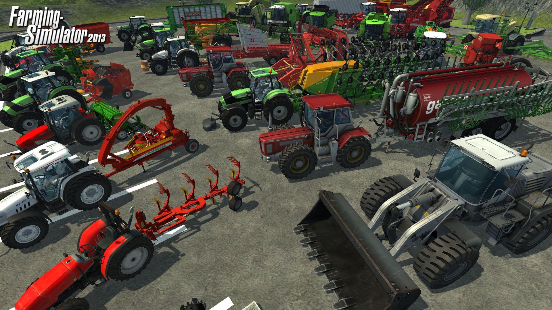 模拟农场2013下载_单机游戏模拟农场2013下载