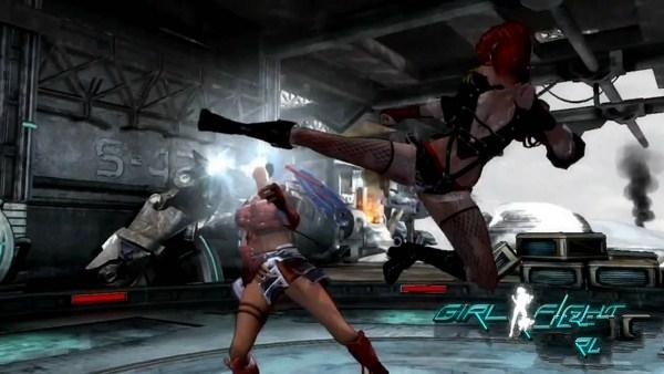 女生格斗游戏