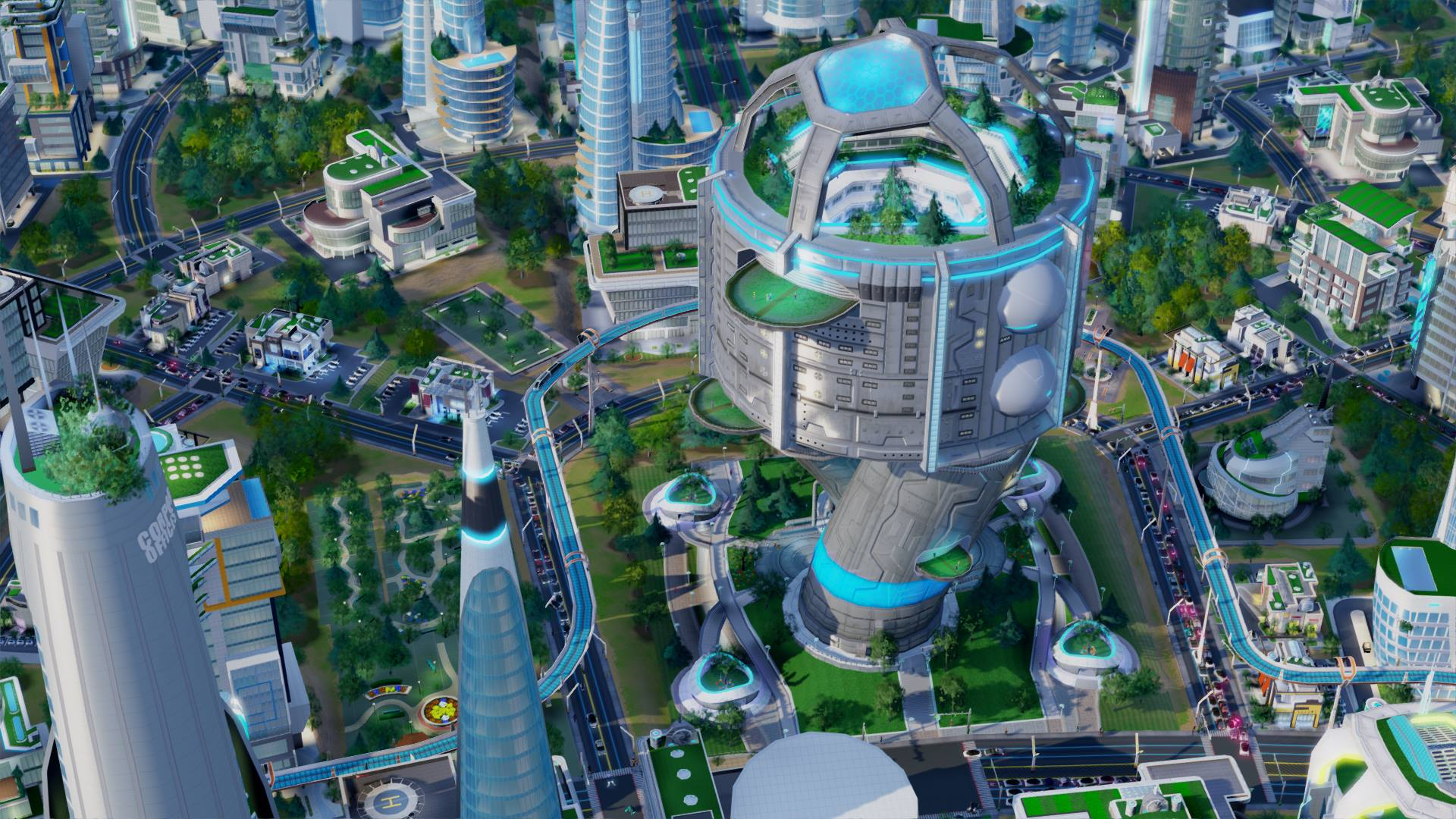 未来之城电车大道如何布置_电车大道布置方法详解  模拟城市5:未来之图片